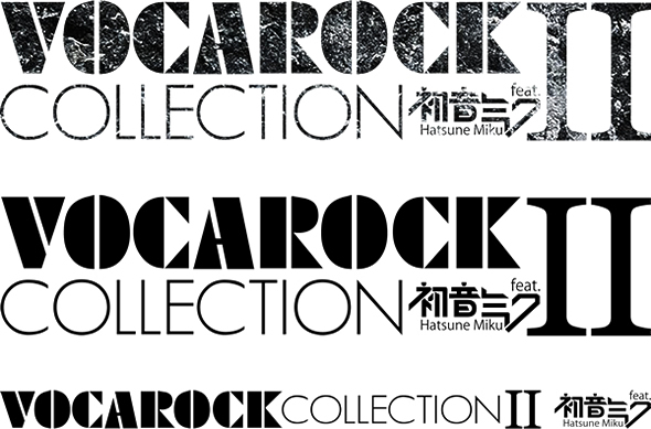 VOCAROCK collection 2 ロゴ