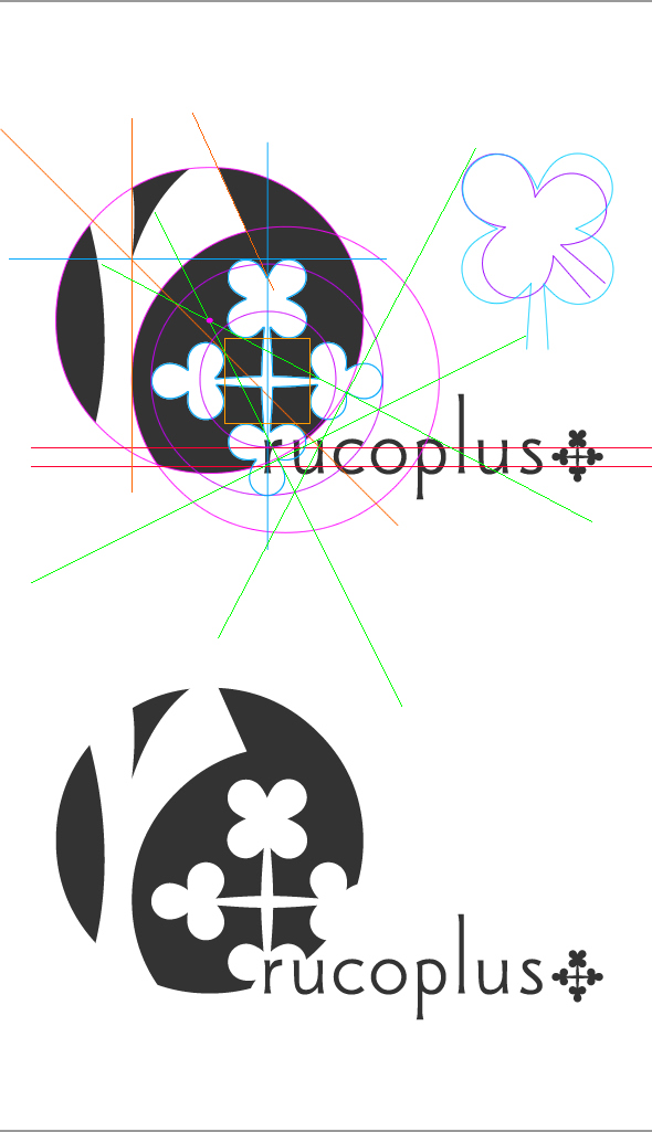 rucoplus+ ロゴのガイド