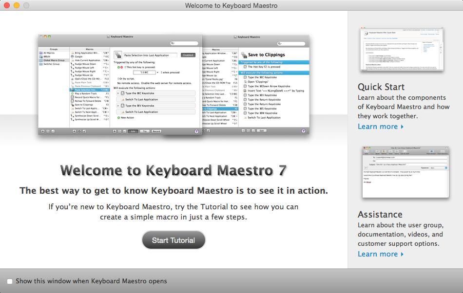 Keyboard Maestro 入門単発講座
